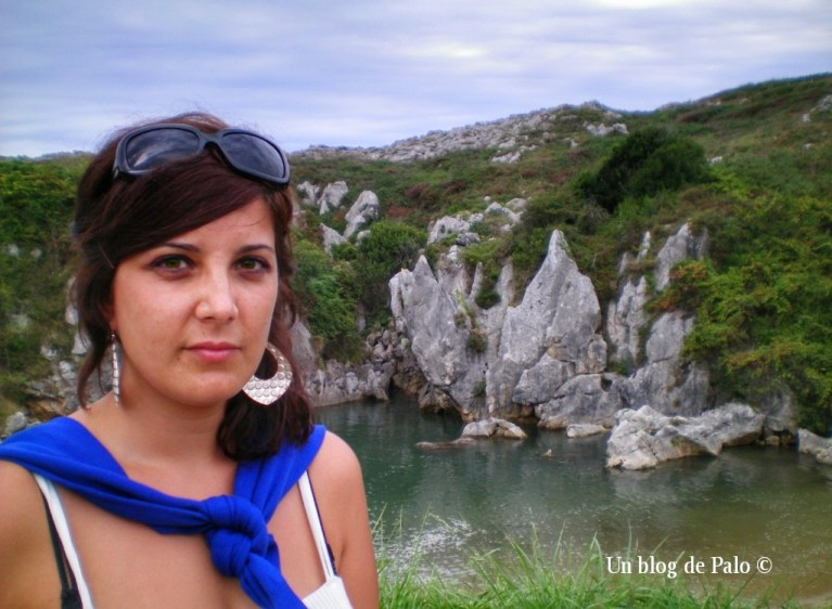 Hace algunos años en la playa de Gulpiyuri
