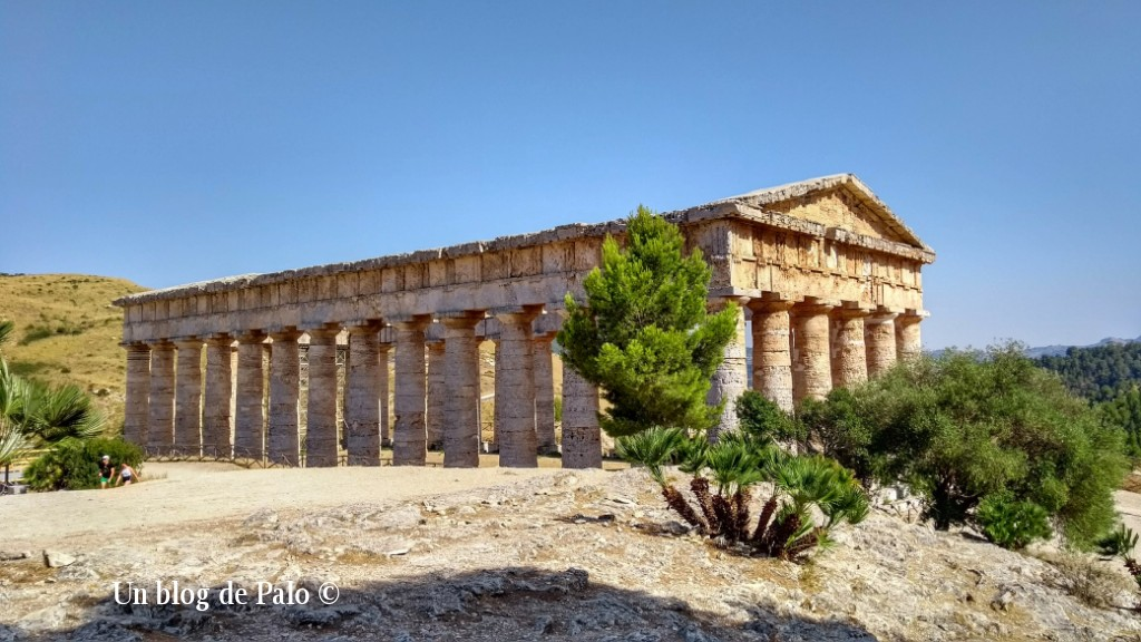 Templo dórico de Segesta