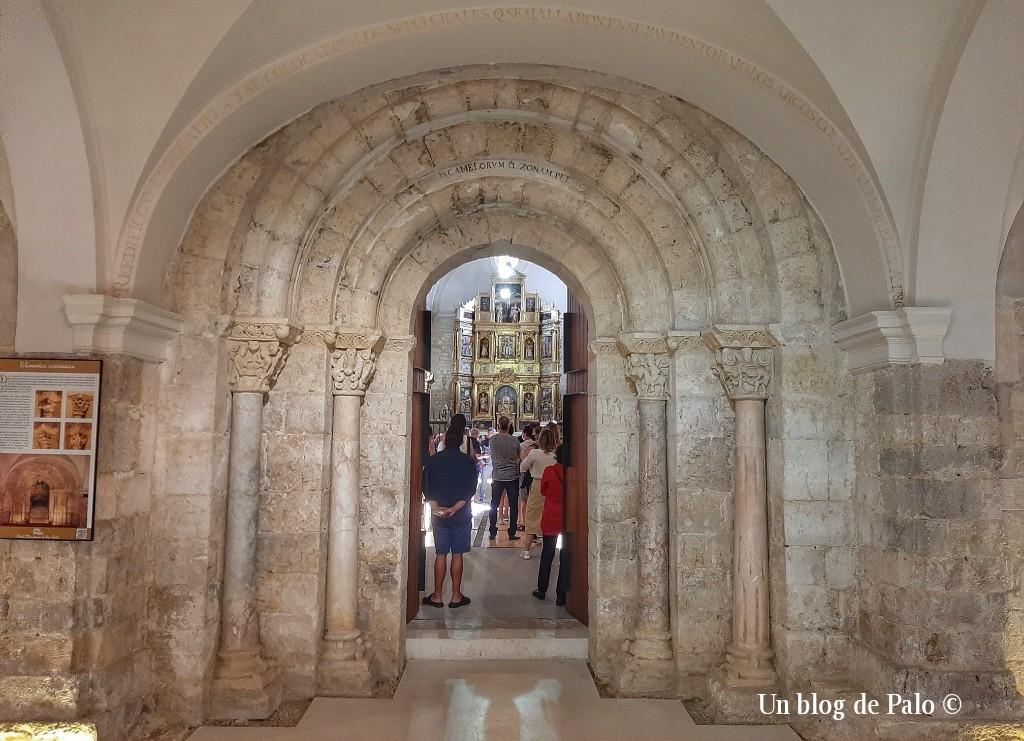 Portada románica San Zoilo en Palencia