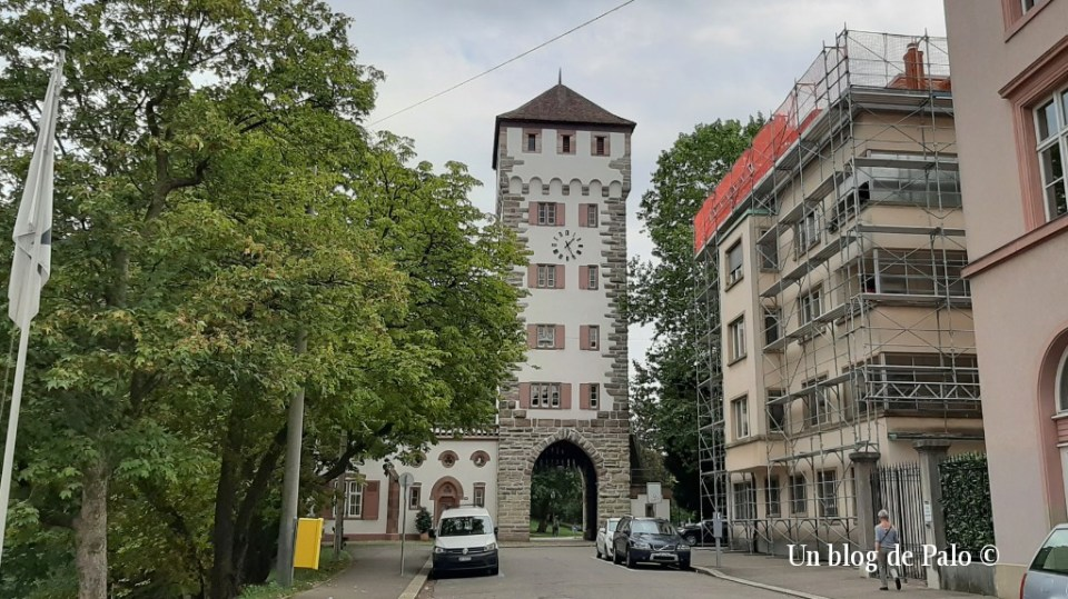 Qué ver en Basilea, Puerta de San Albano