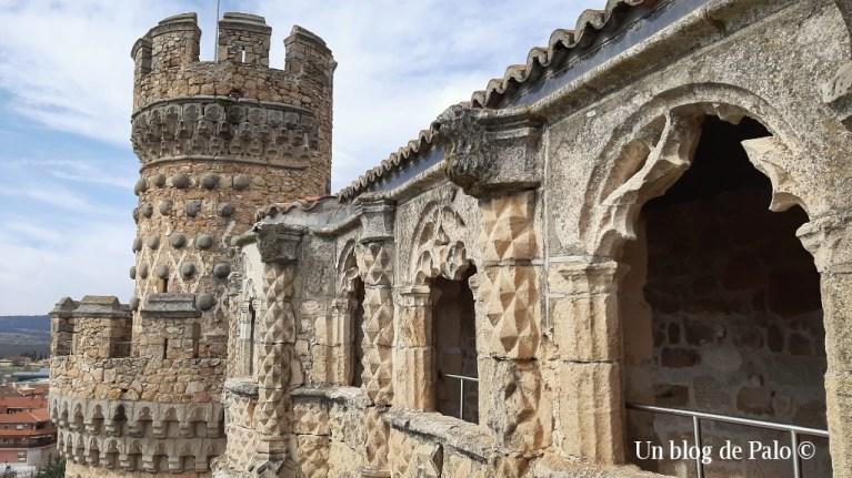 Exterior del castillo desde la Galería de Juan Guas