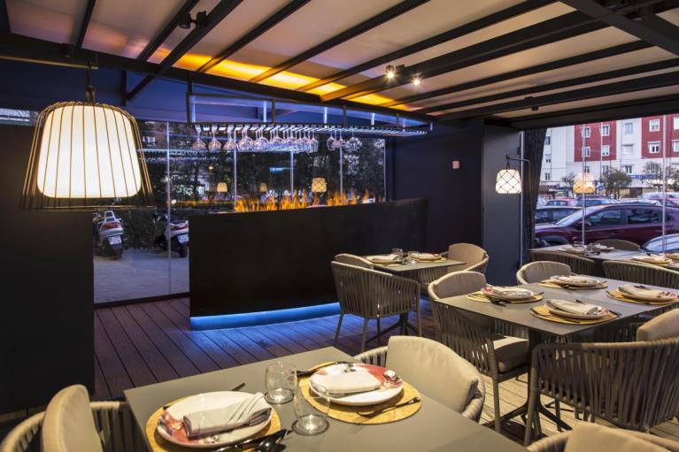 Terraza del restaurante Iztac
