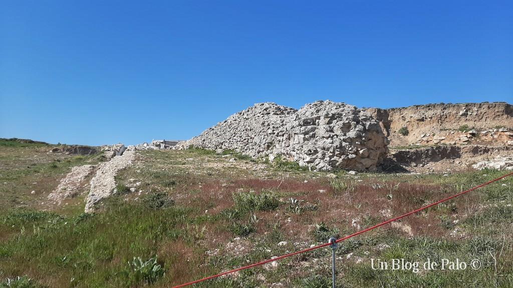 Muros de las termas de Confloenta cerca de Sepúlveda