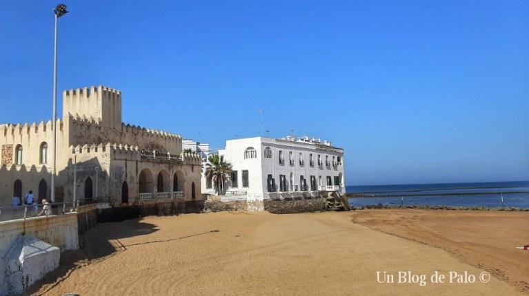 Vistas del Castillo de Chipiona