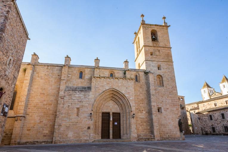 Concatedral de Cáceres y museo catedralicio