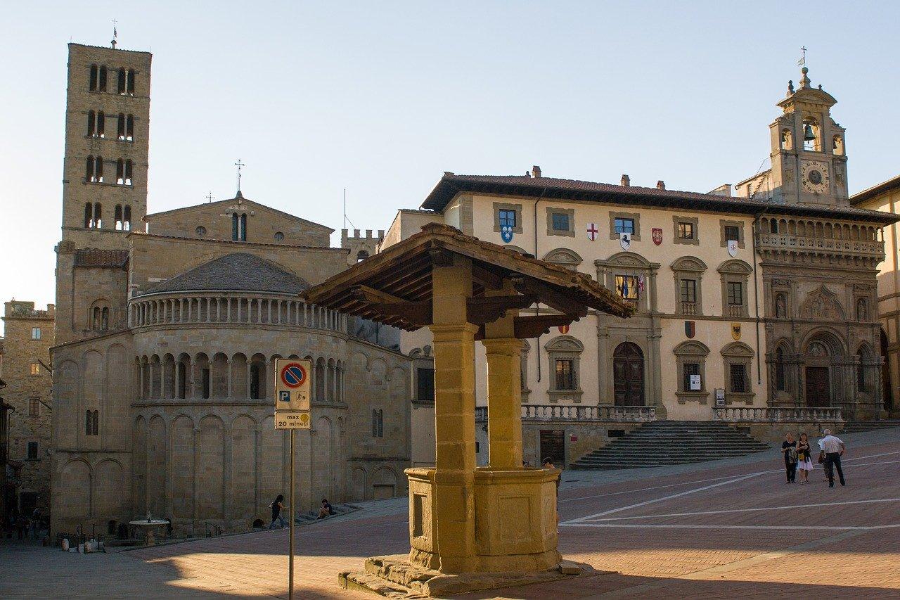 Centro histórico de Arezzo