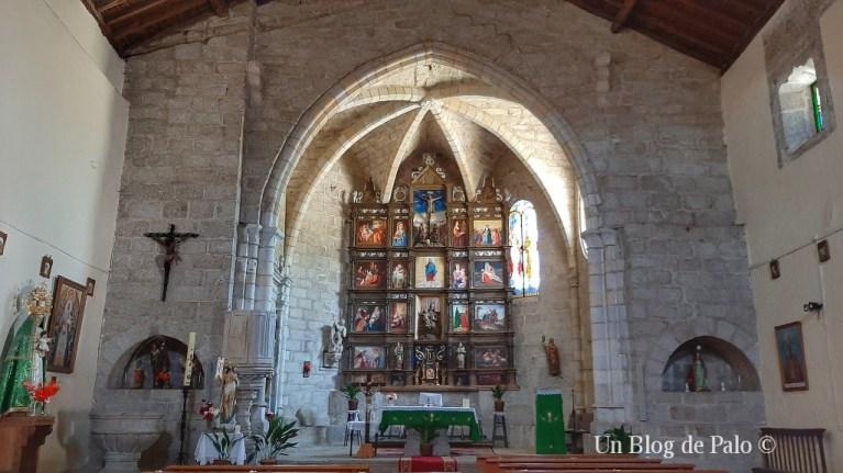 Interior de la iglesia parroquial de Montemayor