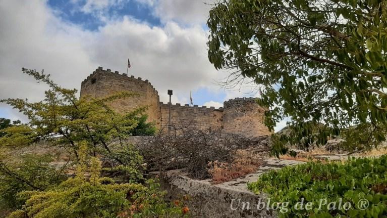 Vistas del castillo de Ledesma