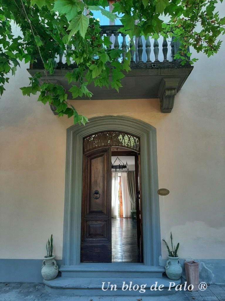 Dormimos en una Villa en la Toscana