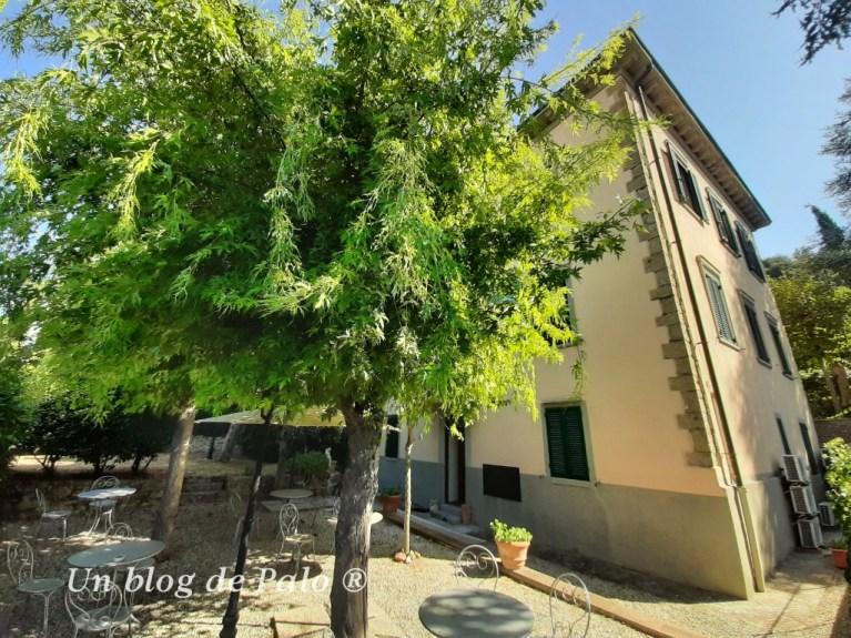 Las villas y los agriturismos con un tipo de alojamiento muy habitual en Toscana
