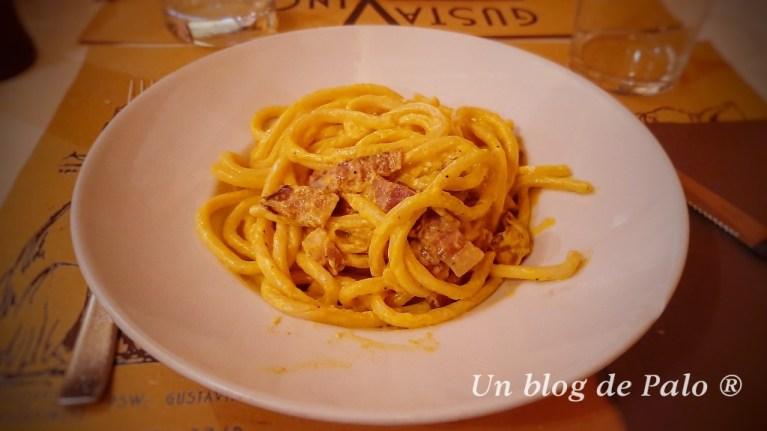Comer en Toscana: picci