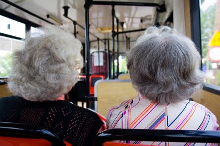 Gamle damer er hyggelege... Eller?