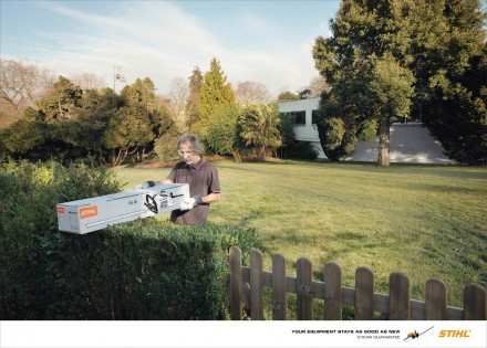 Stihl: 3 Year Guarantee