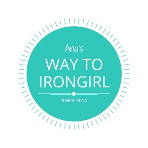 Ana's Way to Irongirl Logo
