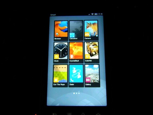 Firefox OS phone in the Philippines running Boot 2 Gecko. Picture is from Bob Reyes' FB Page. Bob is the Mozilla Rep in the Philippines.