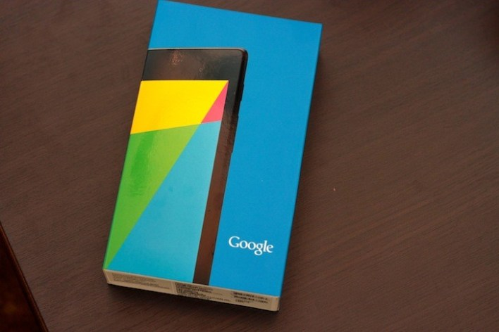 Colorful box for the new Nexus 7