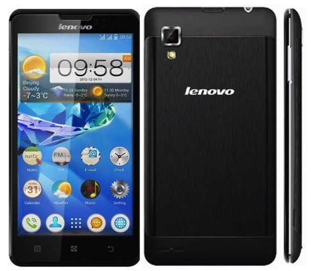 Lenovo P780 Lands in the Philippines