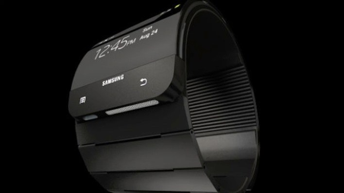 3D Render of the Galaxy Gear from T3.com