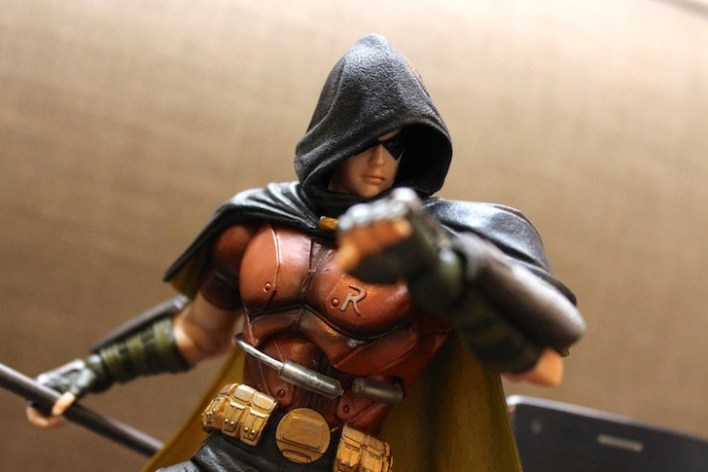 Robin is from the Play Arts Kai series. SRP anywhere from Php2,500-Php3,000