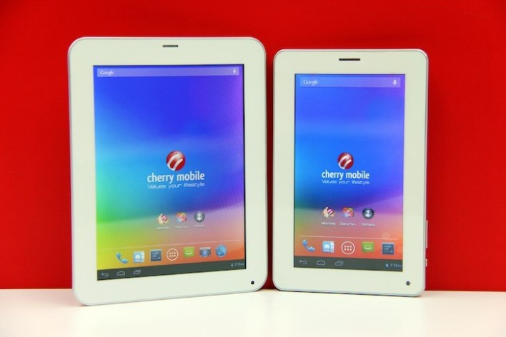 The two new Cherry Mobile Superion Tablets!