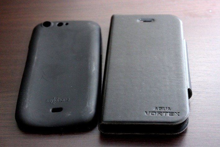 Silicon and Leather Flip Cases