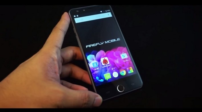 Firefly Mobile Allure 64 LTE video unboxing