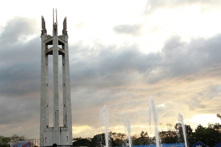Quezon City Circle, one of the first public areas in the PH with free WiFi courtesy of DOST