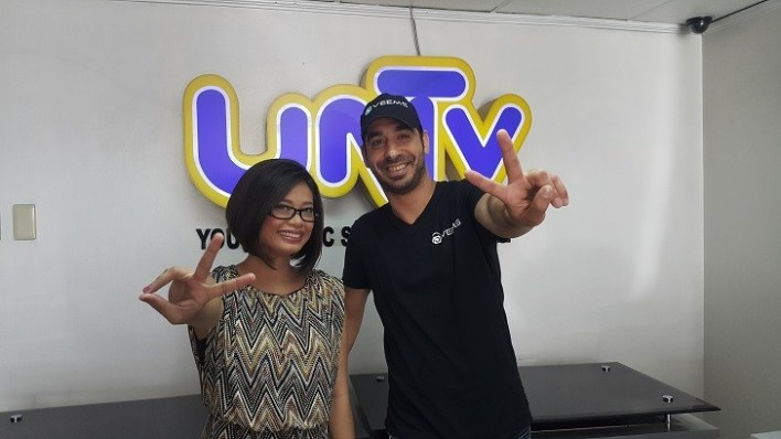 Irene Enriquez, Veems Head of Communications with CEO and Co-founder, Iddo Goren