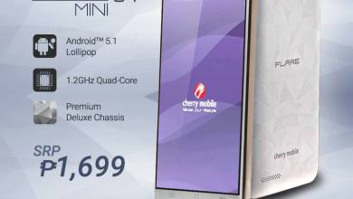 Photo of Cherry Mobile Announces Affordable Flare S4 Mini