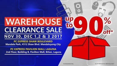 Photo of PC Express to Hold Warehouse Sale from November 30 to December 3