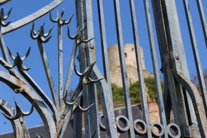 grille chateau de la Roche-Guyon