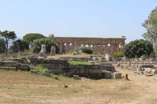 vue du temple de Neptune