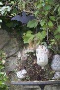 Chauve-souris dans le jardin - Halloween