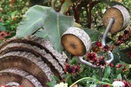 Thème Bourgogne du jardin des plantes de Coutances
