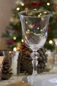 Un joli verre pour le jour de l'an