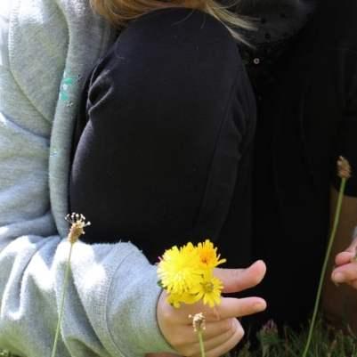 Bouquet de fleurs d'enfant