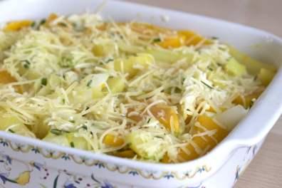 gratin de légumes d'hiver