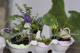 jardin miniature pour Pâques