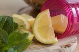 Citron pour infuseur à fruits