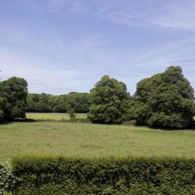 jardin du château de Gratot