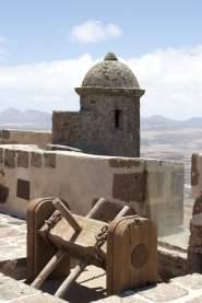 Château de Santa Barbara sur l'île de Lanzarote