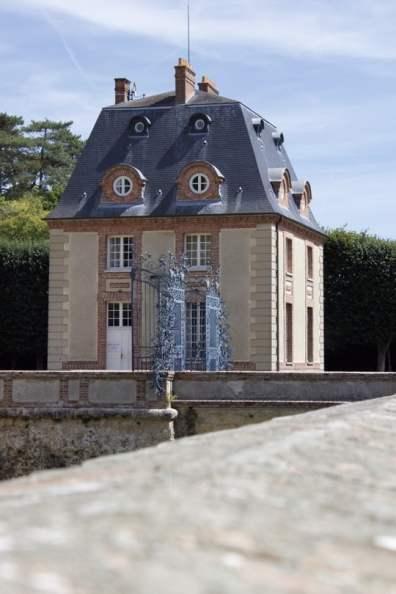 Entrée du château de Breteuil dans les Yvelines
