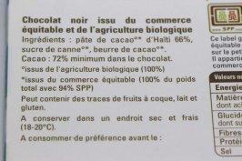 Entomophagie - Ingrédients chocolat éthiquable