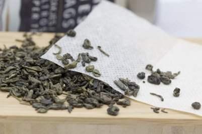 Sachet biodégradable pour thé en vrac