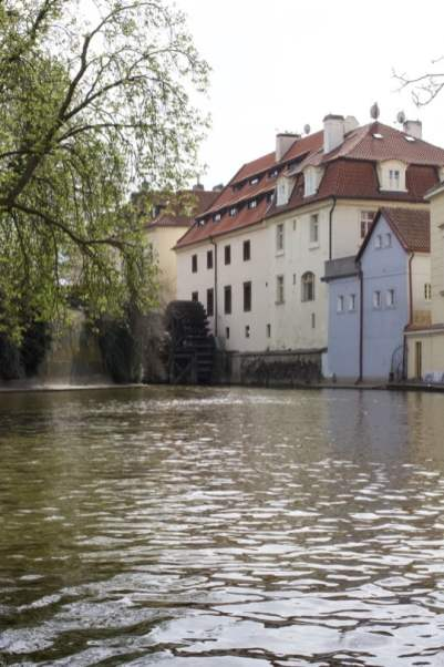 L'île de Kampa à Prague
