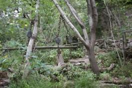 Jardin botanique du sanctuaire de Lluc à Majorque.