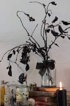 Bouquet sinistre pour Halloween