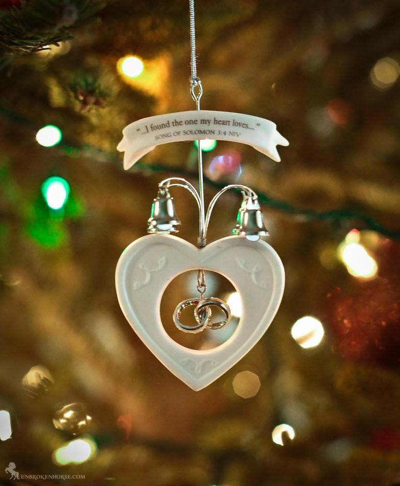 Lovely 1st XMas Ornament