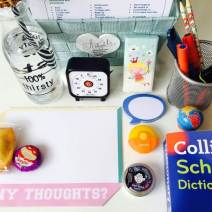 Homework basket for the 10 year old (Year 6)