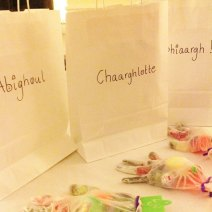 Personalise your Trick or Treat bags with scary names